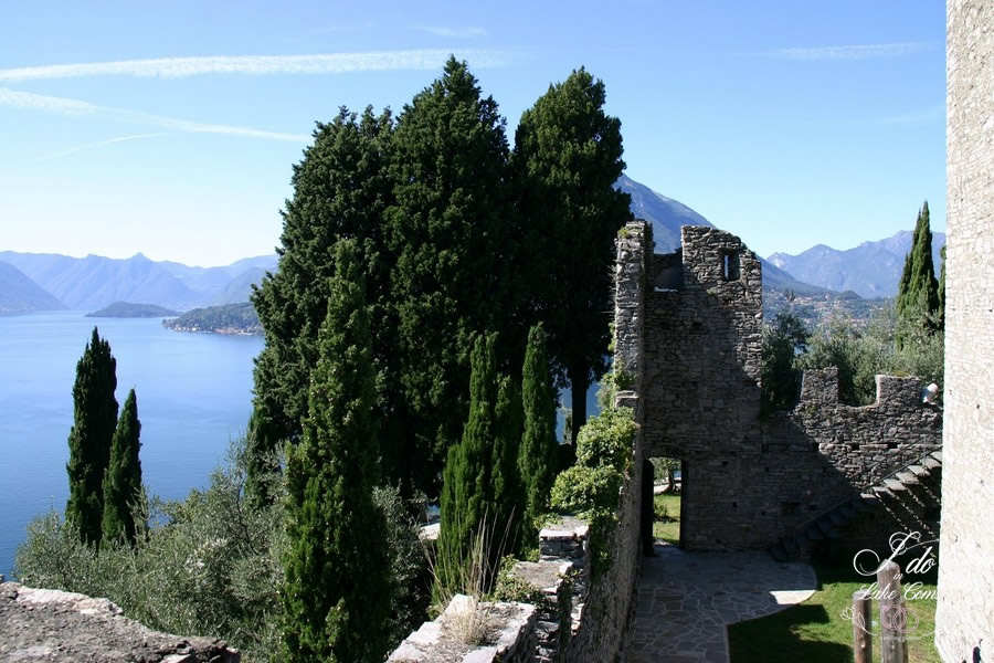 Wedding venue in lake Como - Vezio Castel