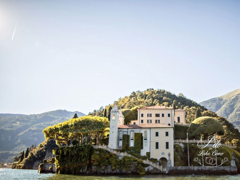 Villa del Balbianello wedding venue on Lake Como