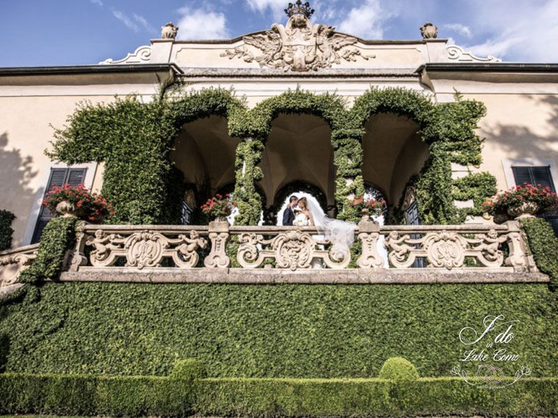 Villa Balbianello wedding venue on Lake Como
