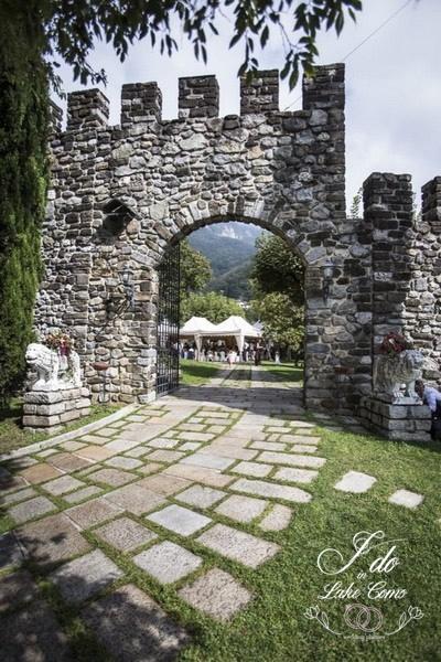 Castello di Rossino wedding venue in lake Como