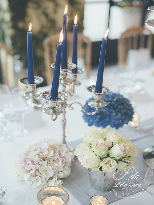 Beautiful table compositions in Lake Como | Lake Como Wedding Planner