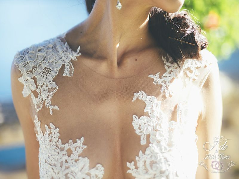 Beautiful wedding dresses in Lake Como | Lake Como Wedding Planner