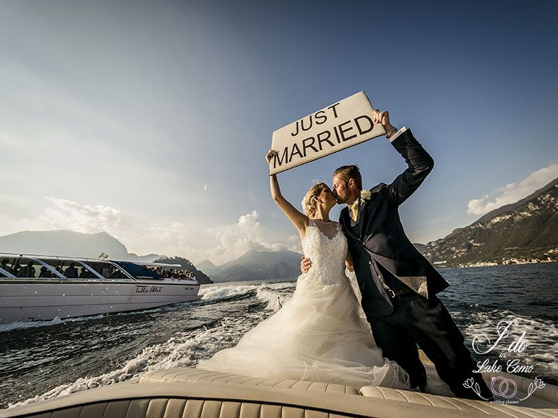 Catherine and Mike Just Married on Lake Como | Lake Como Wedding Planner