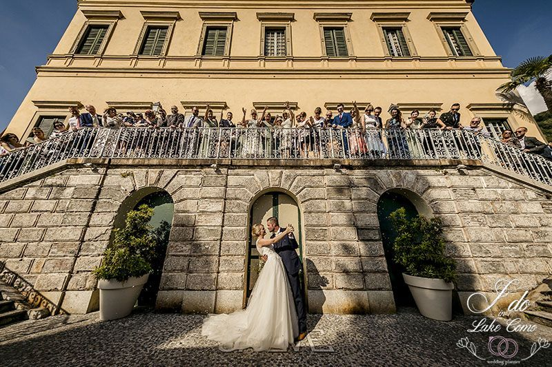 Catherine & Mike wedding in lake Como