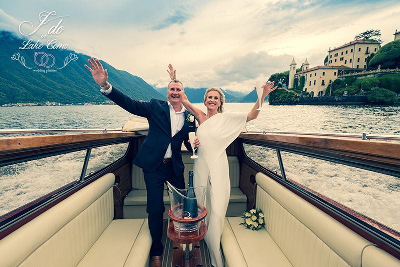 Sally & John wedding in lake Como