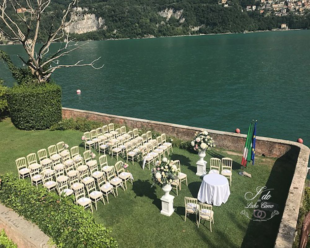 Villa Teodolinda wedding venue on lake Como