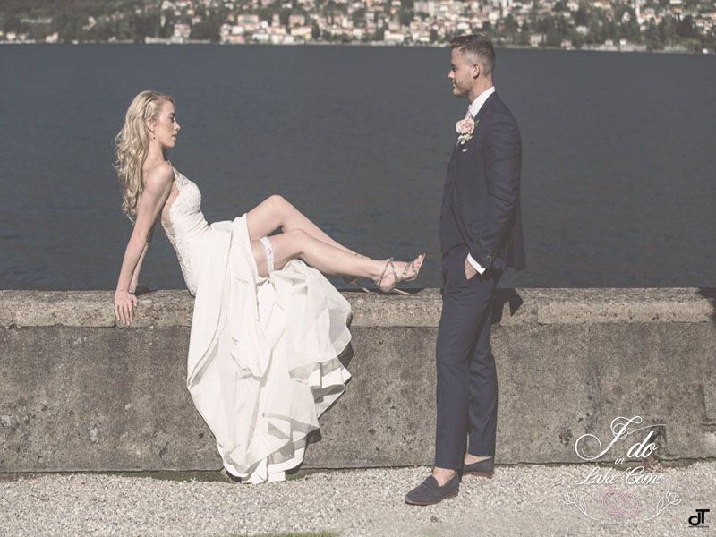 English couple gets married in Italy | Lake Como Wedding Planner