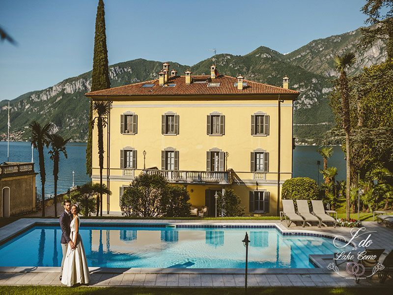 Exclusive villa for a wedding in Lake Como