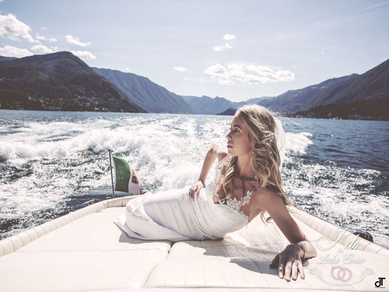 Fun weddings with speedboat tour in Lake Como | Lake Como Wedding Planner