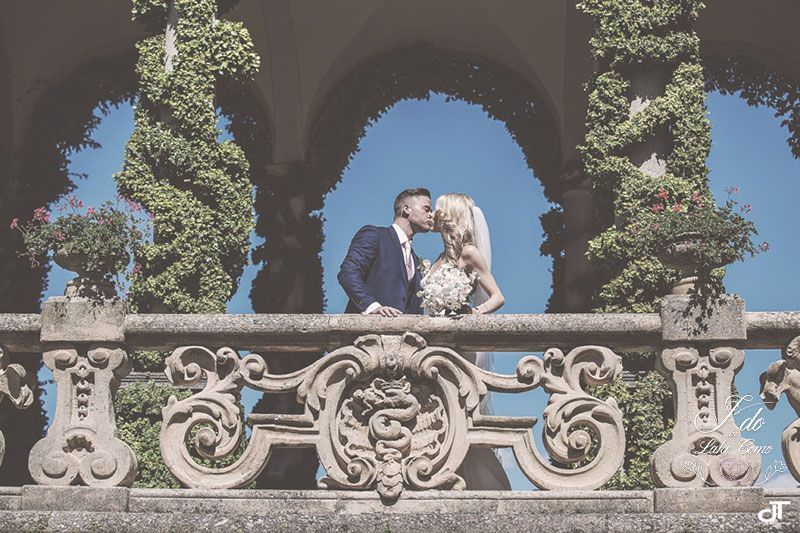 Melissa & Adrian wedding in lake Como