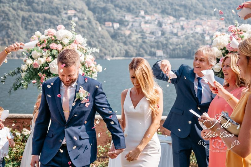 A romantic wedding at Villa Regina Teodolinda wedding in lake Como