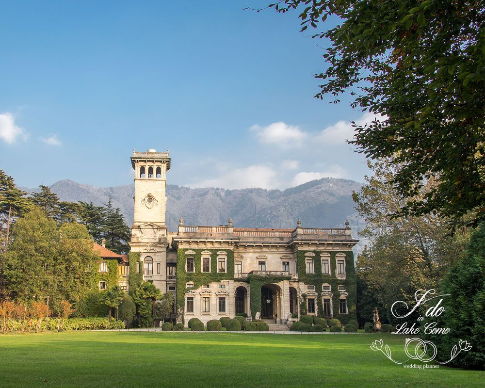 Villa Erba wedding venue on lake Como
