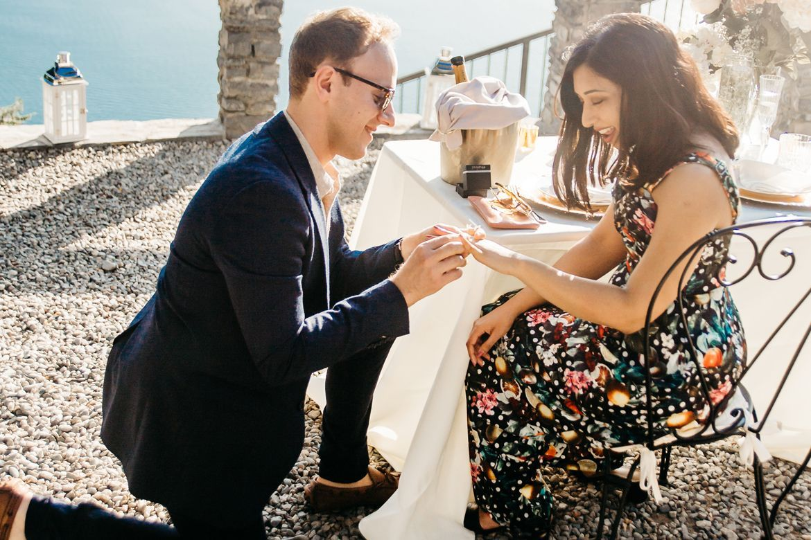 Lake Como Proposal Package | wedding planner on lake Como