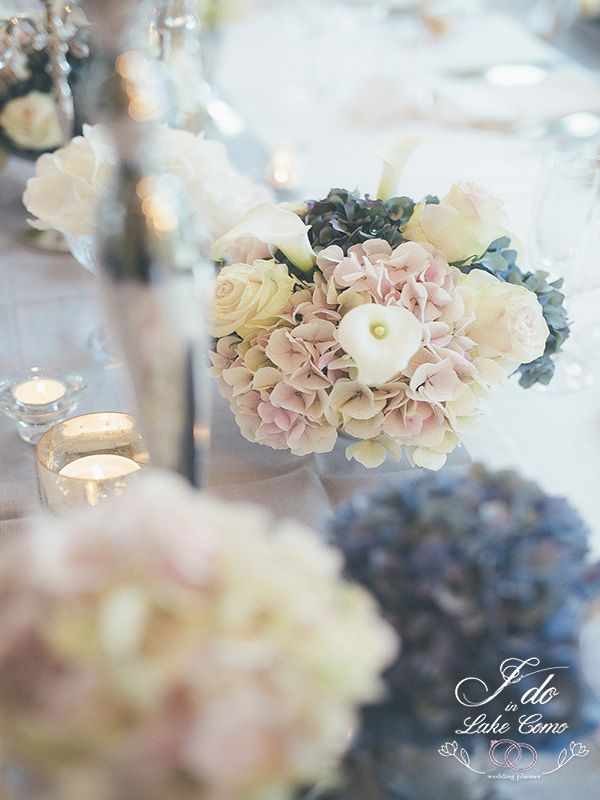 Soft color compositions in Villa Balbianello | Lake Como Wedding Planner
