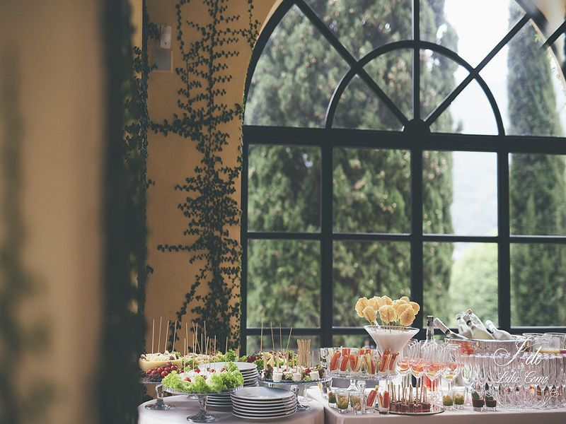 Traditional Italian aperitivo in Lake Como Italy | Lake Como Wedding Planner