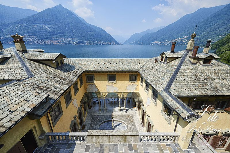Villa Pliniana with a breathtaking view of Lake Como