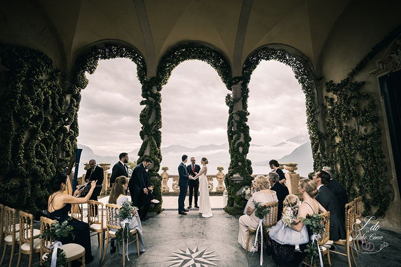 A sweet & intimate ceremony at Villa Balbianello