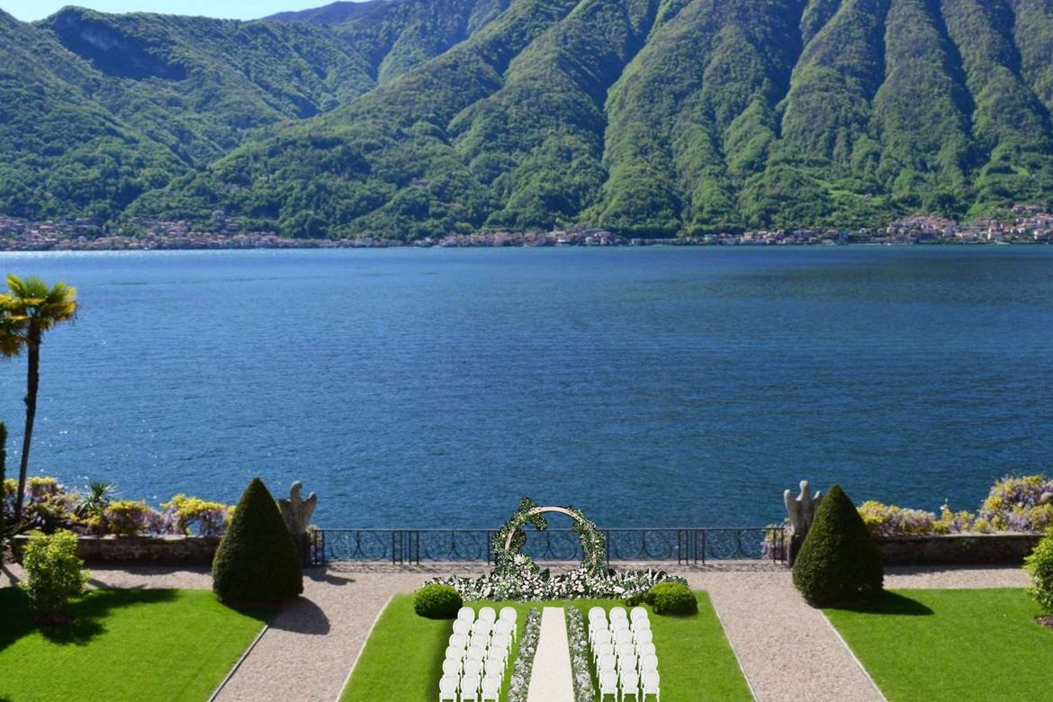 Luxurious Weddings at Villa Balbiano | wedding planner on lake Como