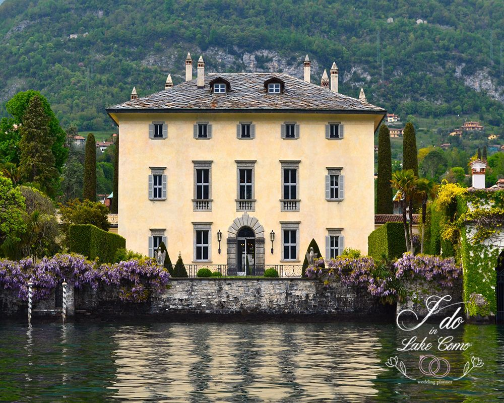 Villa Balbiano venue for your marriage in lake Como