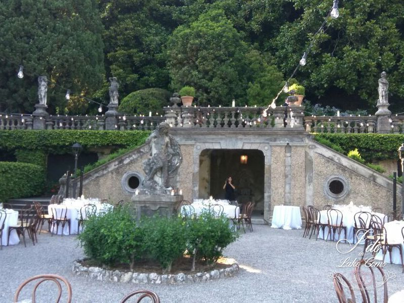 Villa Pizzo Receptions at Lake Como