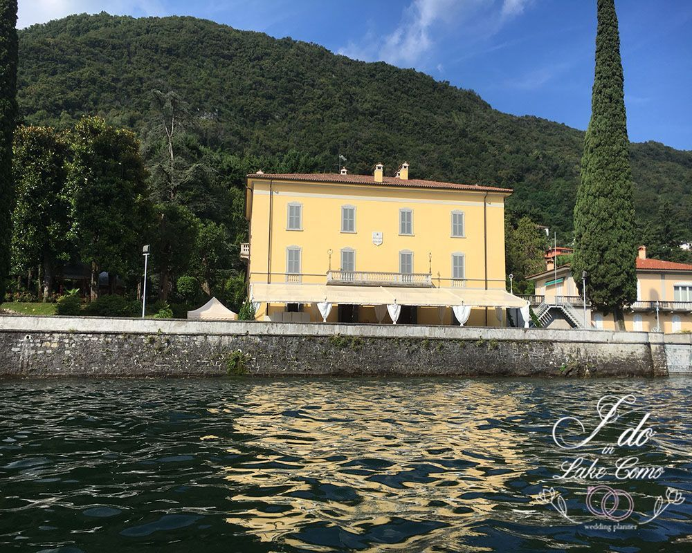Villa Aura venue for your marriage in lake Como