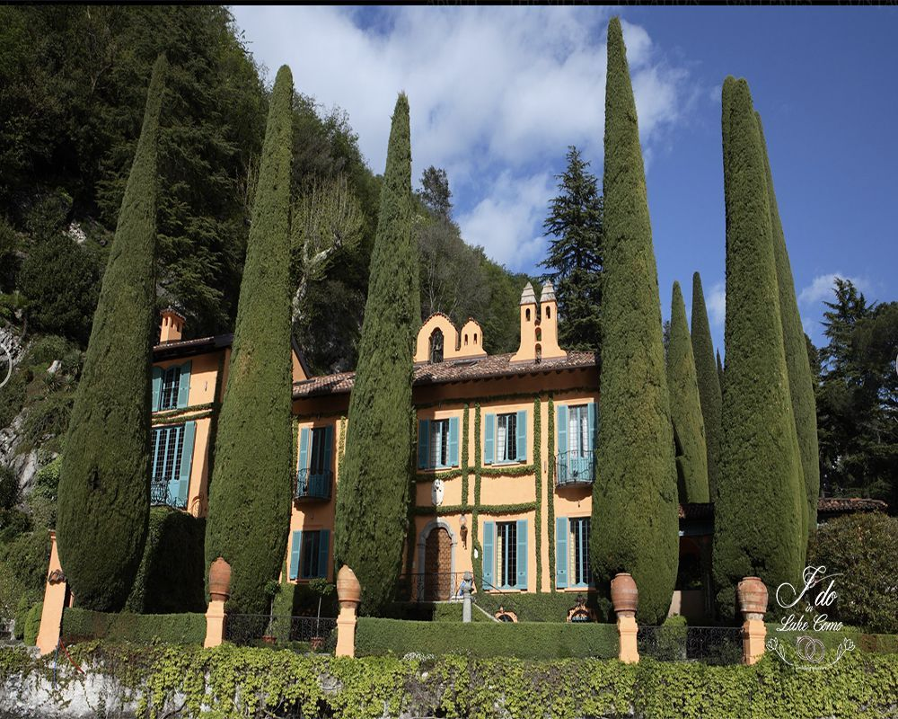 Villa La Cassinella venue for your marriage in lake Como