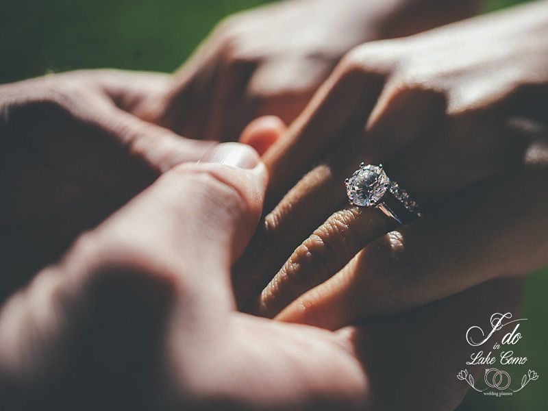 Wedding diamonds in Lake Como | Lake Como Wedding Planner