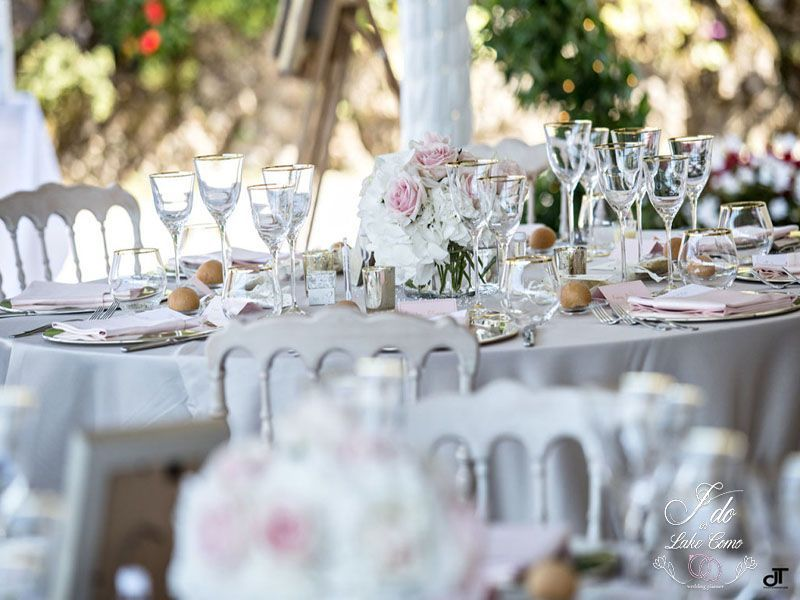 Weddings receptions at Villa Aura Bellagio Lake Como | Lake Como Wedding Planner