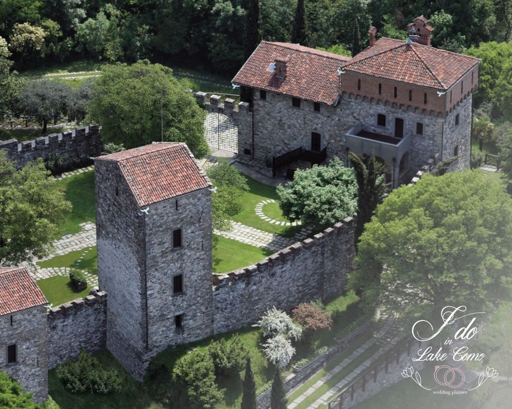Castello Rossino venue for your marriage in lake Como