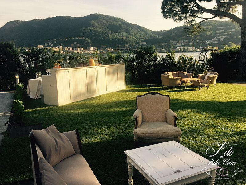 Destination weddings on Lake Como at Villa Geno