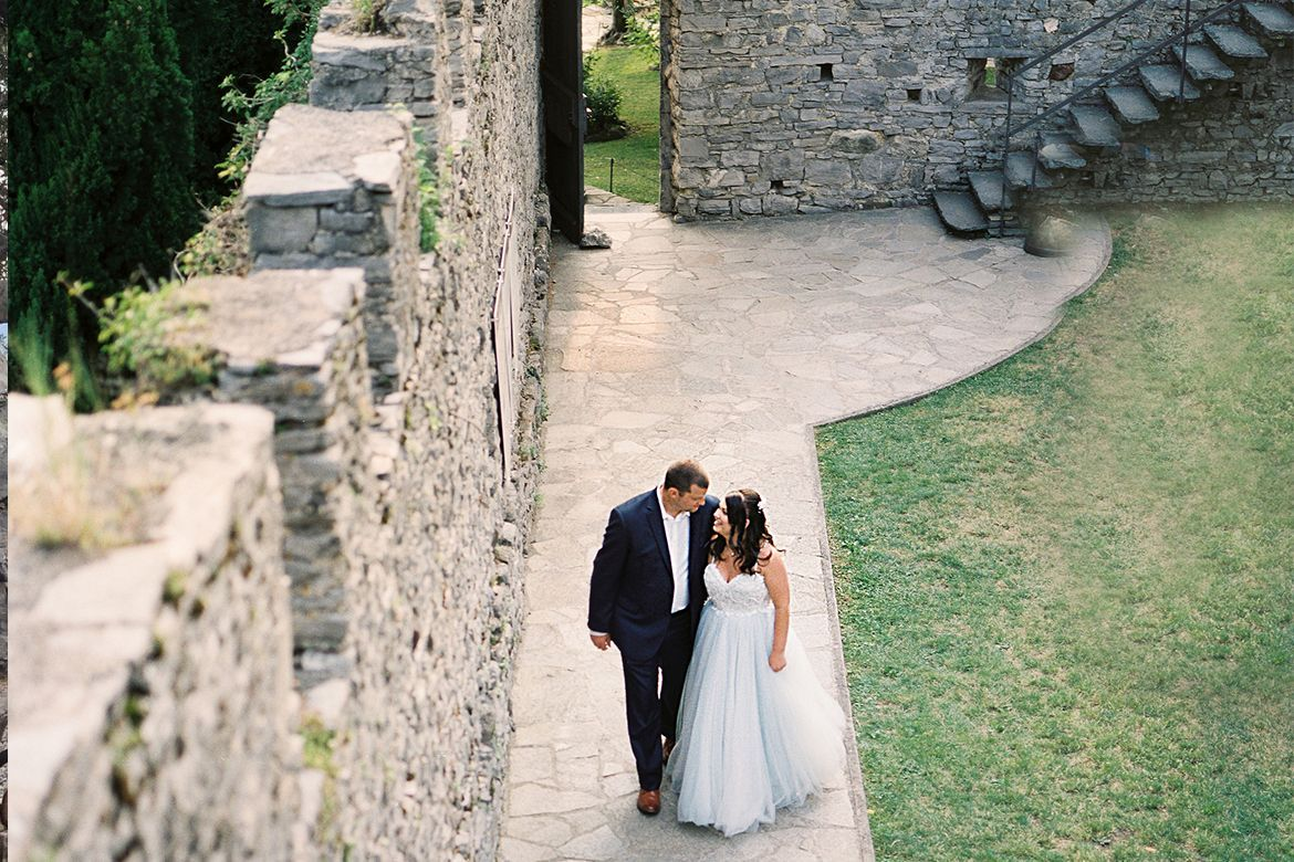 Lake Como Luxury Elopement Package | wedding planner on lake Como