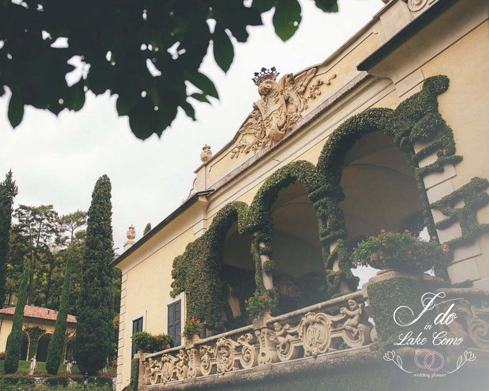 Villa del Balbianello wedding venue in lake Como
