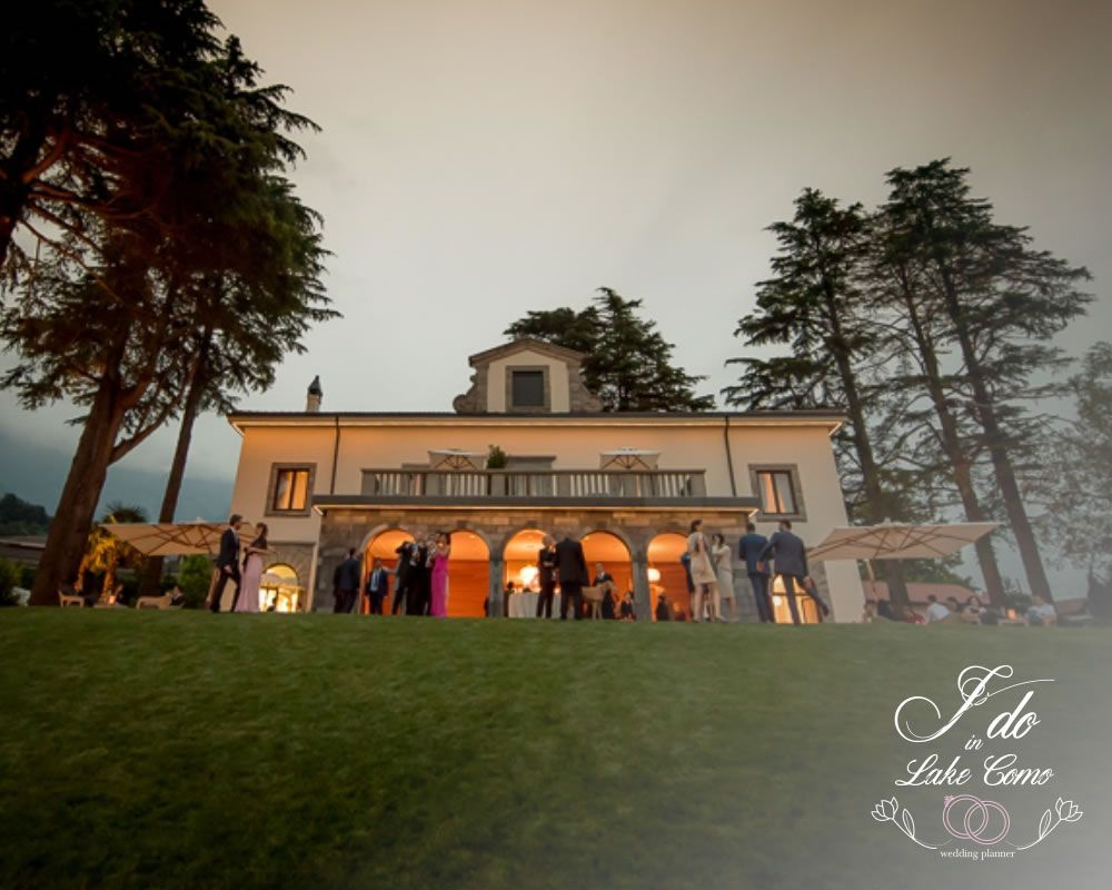Villa Lario venue for your marriage in lake Como