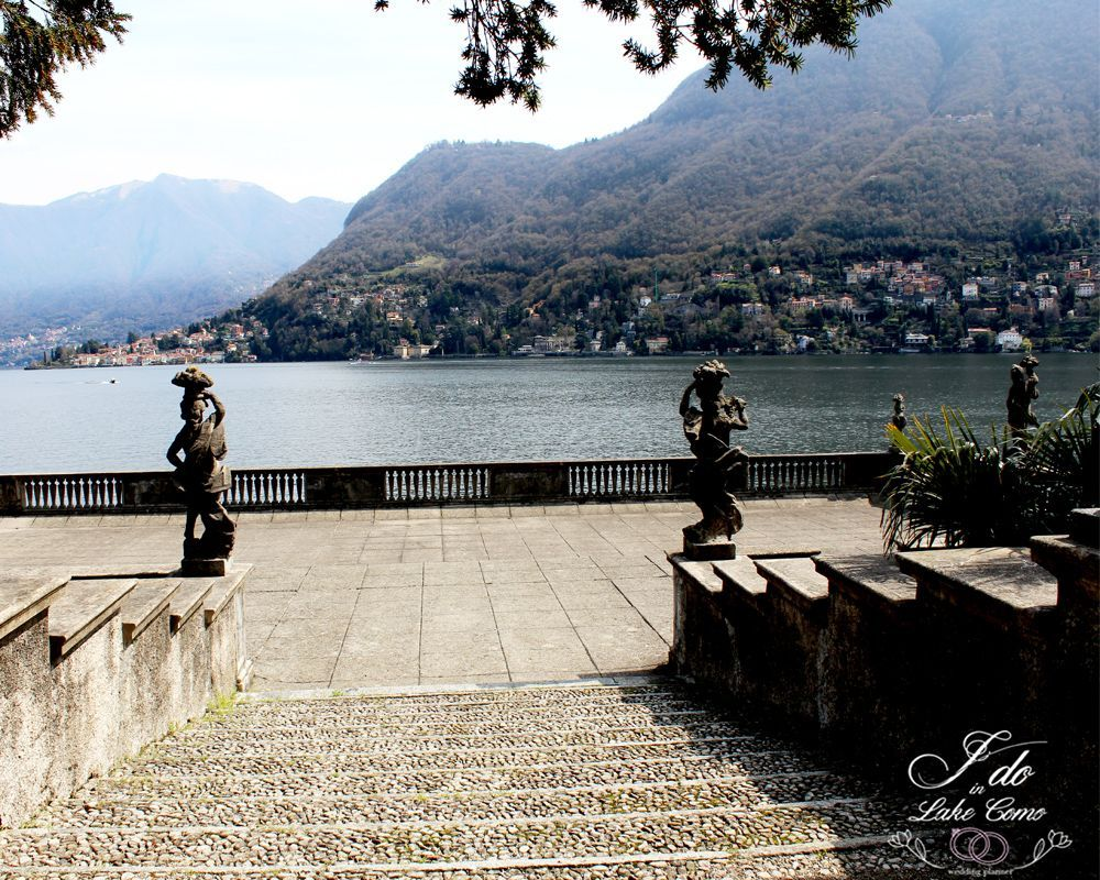 Villa Pizzo venue for your marriage in lake Como