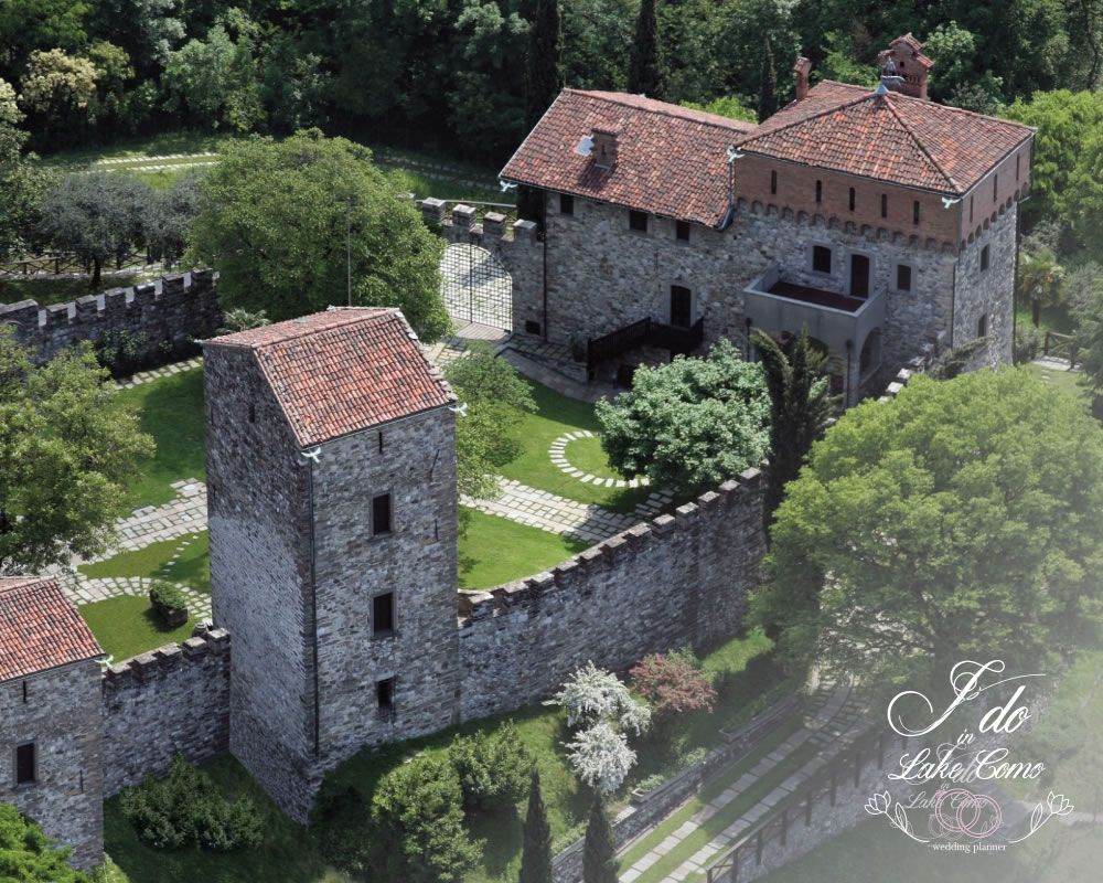 Castello Rossino wedding venue on lake Como