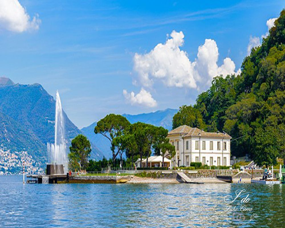 Villa Geno wedding venue on lake Como